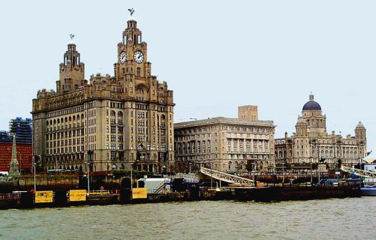 This work has been released into the public domain and is available online at http://commons.wikimedia.org/wiki/File:Liverpool_skyline,_closeup.jpg