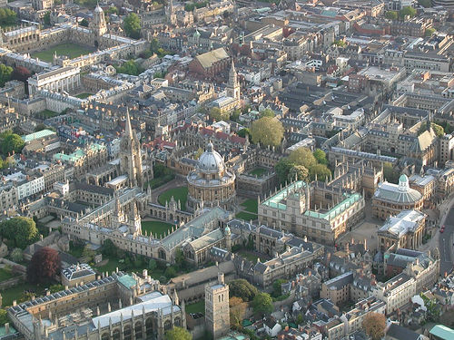 Oxford's dreaming spires and ivory towers