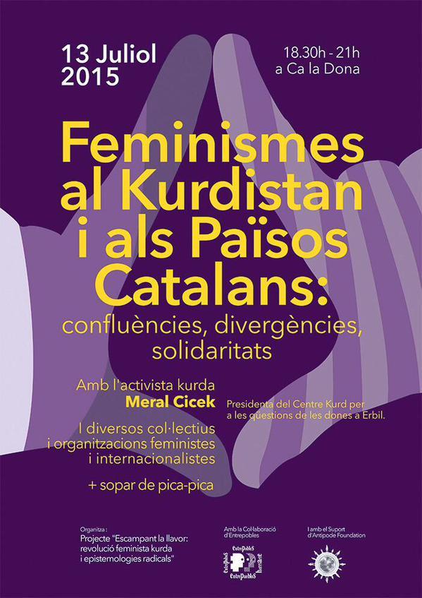 Feminismes al Kurdistan i als Països Catalans