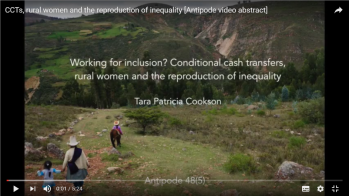 Tara Cookson's video abstract