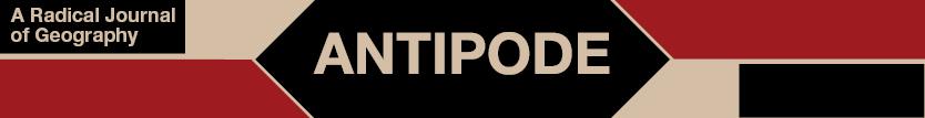 Antipode Foundation Scholar-Activist Project and International Workshop Awards – application deadline 31 May 2019
